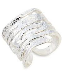Karine Sultan - Angelina Stack Ring - Lyst