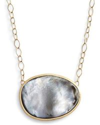Marco Bicego - Lunaria Mother Of Pearl Pendant Necklace - Lyst
