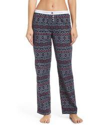 Tommy Hilfiger - Flannel Pajama Pants - Lyst