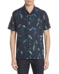 PS by Paul Smith | Botanical Print Shirt | Lyst