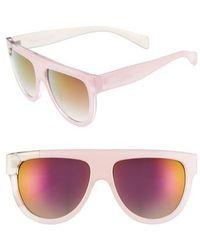 Circus by Sam Edelman - 68mm Flat Top Sunglasses - Lyst