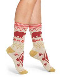 Pendleton - Bear Path Merino Wool Blend Socks - Lyst