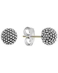 Lagos - 'columbus Circle' Ball Stud Earrings - Lyst