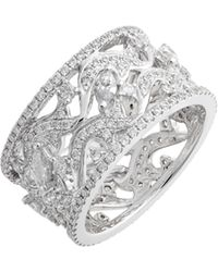 Bony Levy - Luxe Wide Diamond Ring (nordstrom Exclusive) - Lyst