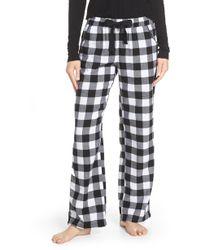 Make + Model - Flannel Pants - Lyst