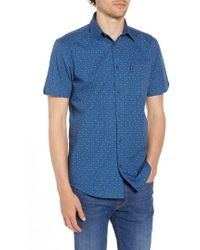 Ben Sherman - Scattered Geo Woven Shirt - Lyst