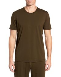 Daniel Buchler - Stretch Cotton & Modal Crewneck T-shirt - Lyst