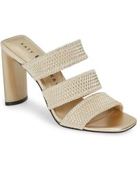 d4ab2fbd0 Lyst - Tory Burch Marion Quilted Wedge Sandals