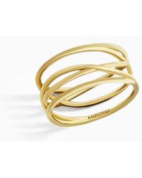 BaubleBar - Ivy Everyday Fine Stack Ring - Lyst