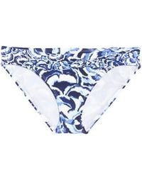 Tommy Bahama - Pansy Twist Front Bikini Bottoms - Lyst