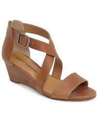 Lucky Brand - Jenley Wedge Sandal - Lyst
