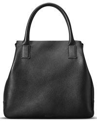 Shinola - Runwell Pebbled Leather Tote - Lyst