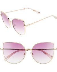 Chelsea28 - La Bamba 59mm Sunglasses - Purple - Lyst