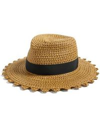 Eric Javits - Cannes Squishee Straw Hat - - Lyst