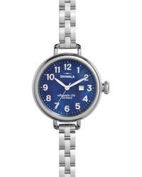 Shinola   'the Birdy' Bracelet Watch   Lyst