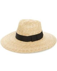 Brixton - 'joanna' Straw Hat - Lyst