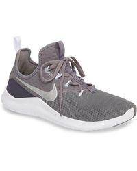 b7f2465e5a6116 Lyst - Nike Women s Free Tr Flyknit 3 Training Shoes