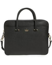 Kate Spade - Saffiano Leather 13 Inch Laptop Bag - Lyst