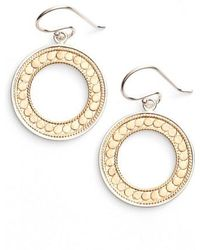 Anna Beck | Open Circle Drop Earrings | Lyst