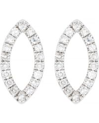 CARRIERE JEWELRY - Carriere Diamond Marquise Stud Earrings (nordstrom Exclusive) - Lyst