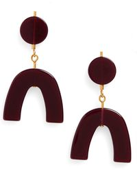 Madewell - Shapes Statement Earrings - Lyst