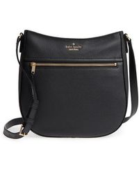 Kate Spade - Jackson Street - Robin Leather Crossbody Bag - Lyst