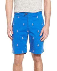 Psycho Bunny - Psycho Bunny Embroidered Shorts - Lyst