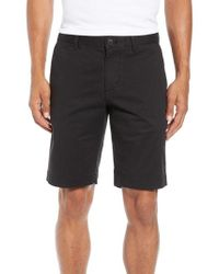 Lacoste - Slim Fit Stretch Cotton Shorts - Lyst