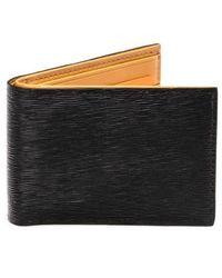 Magnanni - Slim Leather Bifold Wallet - Lyst