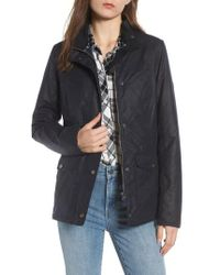 Barbour - Sandsend Waxed Cotton Utility Jacket - Lyst