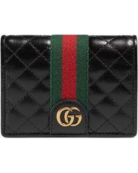 1142087b0ce Lyst - Gucci Rubber Ssima Ipad Case in Black