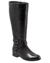Trotters - Liberty Tall Leather Boots - Lyst