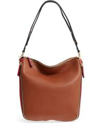 Sondra Roberts - Colorblock Faux Leather Hobo - - Lyst