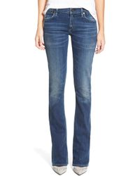 Citizens of Humanity - 'emannuelle' Slim Bootcut Jeans - Lyst