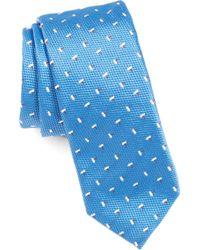 BOSS - Floral Silk Tie - Lyst