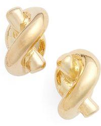 Kate Spade - 'sailors Knot' Mini Stud Earrings - Lyst