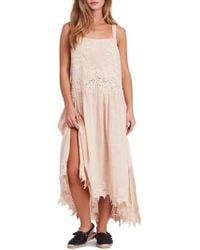 Free People - In Your Arms Applique Maxi Dress - Lyst