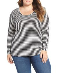 Caslon - Caslon Melody Long Sleeve Scoop Neck Tee - Lyst