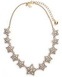 Kate Spade - 'bright Star' Collar Necklace - Lyst