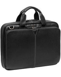 Johnston & Murphy - Leather Briefcase - - Lyst