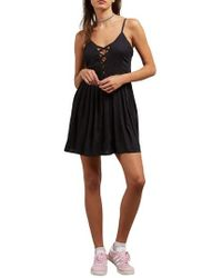 Volcom - Cross Paths Sundress - Lyst