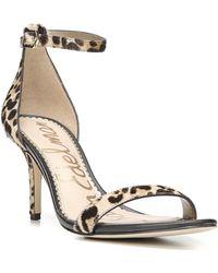 Sam Edelman - 'patti' Ankle Strap Sandal - Lyst