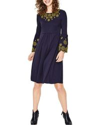 Boden - Emilia Embroidered Dress - Lyst