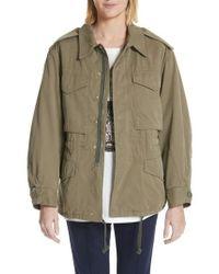 Gucci - Logo Utility Jacket - Lyst