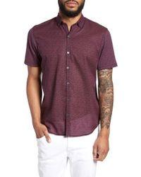 Zachary Prell - Clyde Slim Fit Sport Shirt - Lyst