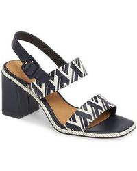 Tory Burch - Delaney Double Strap Sandal - Lyst