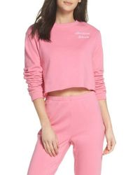 Make + Model - Cropped Sweatshirt - Lyst