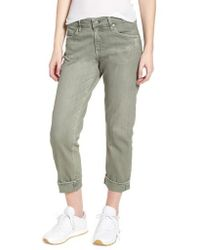 AG Jeans - 'the Ex-boyfriend' Crop Slim Jeans - Lyst