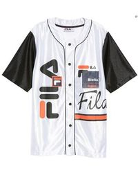 Fila - Brantley Baseball Shirt - Lyst