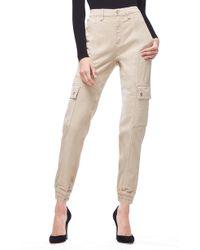 GOOD AMERICAN - Slim Cargo Pants - Lyst